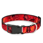 Disney Designer Breakaway Pet Collar - Simba and Scar Battle Scene