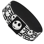 Disney Designer Elastic Bracelet - Nightmare Before Christmas - Jack Skellington - Stripe