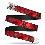 Disney Designer Seatbelt Belt - Simba and Scar Battle Scene