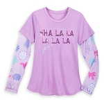 Disney Women's Shirt - Little Mermaid Sebastian - Sha La La La La La