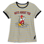 Disney Women's Shirt - Timothy Mouse - Nuts About You