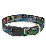 Disney Designer Breakaway Pet Collar - Mickey and Minnie Comic Strip