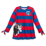 Disney Women's Shirt - Figaro and Cleo Long Sleeve