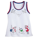 Disney Women's Shirt - Cinderella Mice Tank Top