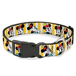 Disney Designer Breakaway Pet Collar - Classic Minnie Mouse Poses