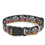 Disney Designer Breakaway Pet Collar - Classic Mickey - Wearing Glasses