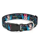 Disney Designer Breakaway Pet Collar - Hip Minnie Mouse