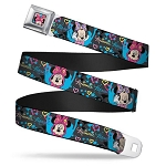 Disney Designer Seatbelt Belt - Hip Minnie Mouse