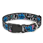 Disney Designer Breakaway Pet Collar -Cutie Stitch and Scrump