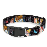 Disney Designer Breakaway Pet Collar - Princesses and Princes Dancing