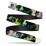 Disney Designer Seatbelt Belt - Princess Aurora and Maleficent