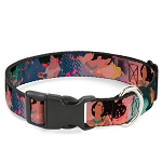 Disney Designer Breakaway Pet Collar - Pocahontas and John Smith