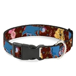 Disney Designer Breakaway Pet Collar - Winnie the Pooh and Friends - Autographs