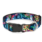 Disney Designer Breakaway Pet Collar - Buzz Lightyear - Colorful Action Poses