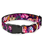 Disney Designer Breakaway Pet Collar - Alice and the Queen of Hearts - Movie Scenes