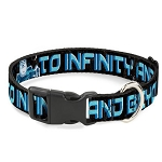Disney Designer Breakaway Pet Collar - Buzz Lightyear - To Infinity and Beyond