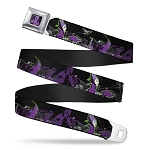 Disney Designer Seatbelt Belt - Maleficent and Diablo
