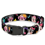 Disney Designer Breakaway Pet Collar - Nerd Minnie Mouse - Expressions