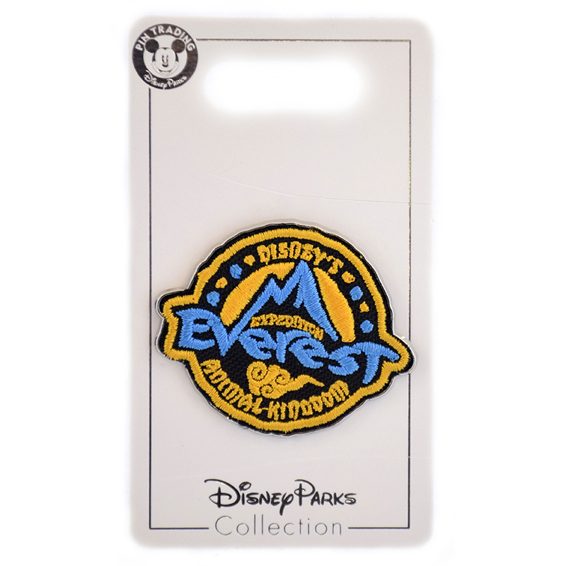 Disney Expedition Everest Pin - Patch - Logo