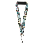 Disney Designer Lanyard - Mickey & Minnie w/ Yeti - Yodelberg Cartoon Scenes