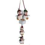 SeaWorld Ornament - Penguin On Ice - Four