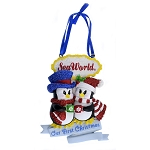 SeaWorld Ornament - Penguin - Our First Christmas