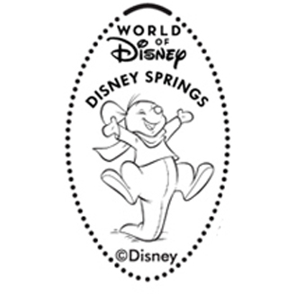 Disney Pressed Penny - Roo Bouncing - Disney Springs
