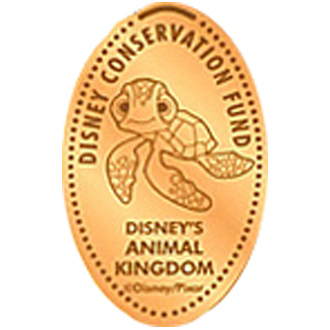 Disney Pressed Penny - Squirt - Disney Conservation Fund