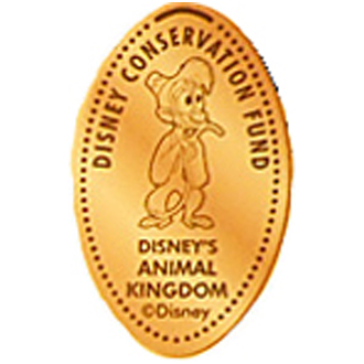 Disney Pressed Penny - Abu - Disney Conservation Fund