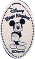 Disney Pressed Penny - Mickey Mouse - Magic Kingdom