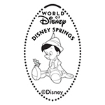 Disney Pressed Penny - Pinocchio - Disney Springs