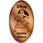Disney Pressed Penny - Moana Fighting Stance - Moana