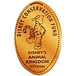 Disney Pressed Penny - Tigger - Disney Conservation Fund