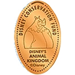 Disney Pressed Penny - Robin Hood - Disney Conservation Fund