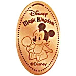 Disney Pressed Penny - Baby Mickey with Candy Apple
