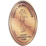 Disney Pressed Penny - Timon - Disney Conservation Fund
