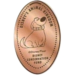 Disney Pressed Penny - Dug - Disney Conservation Fund