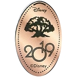 Disney Pressed Penny - 2019 Tree of Life