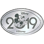 Disney Pressed Quarter - 2019 Mickey Mouse
