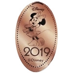 Disney Pressed Penny - 2019 Minnie Mouse