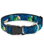 Disney Designer Breakaway Pet Collar - Monsters University - Mike and Sulley - Buddies