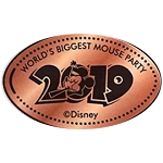 Disney Pressed Penny - 2019 Mickey - Mouse Party