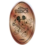Disney Pressed Penny - Mickey Playing Guitar - Hollywood Studios