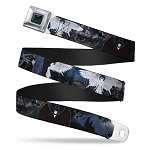 Disney Designer Seatbelt Belt - Maleficent Dragon - Moonlight