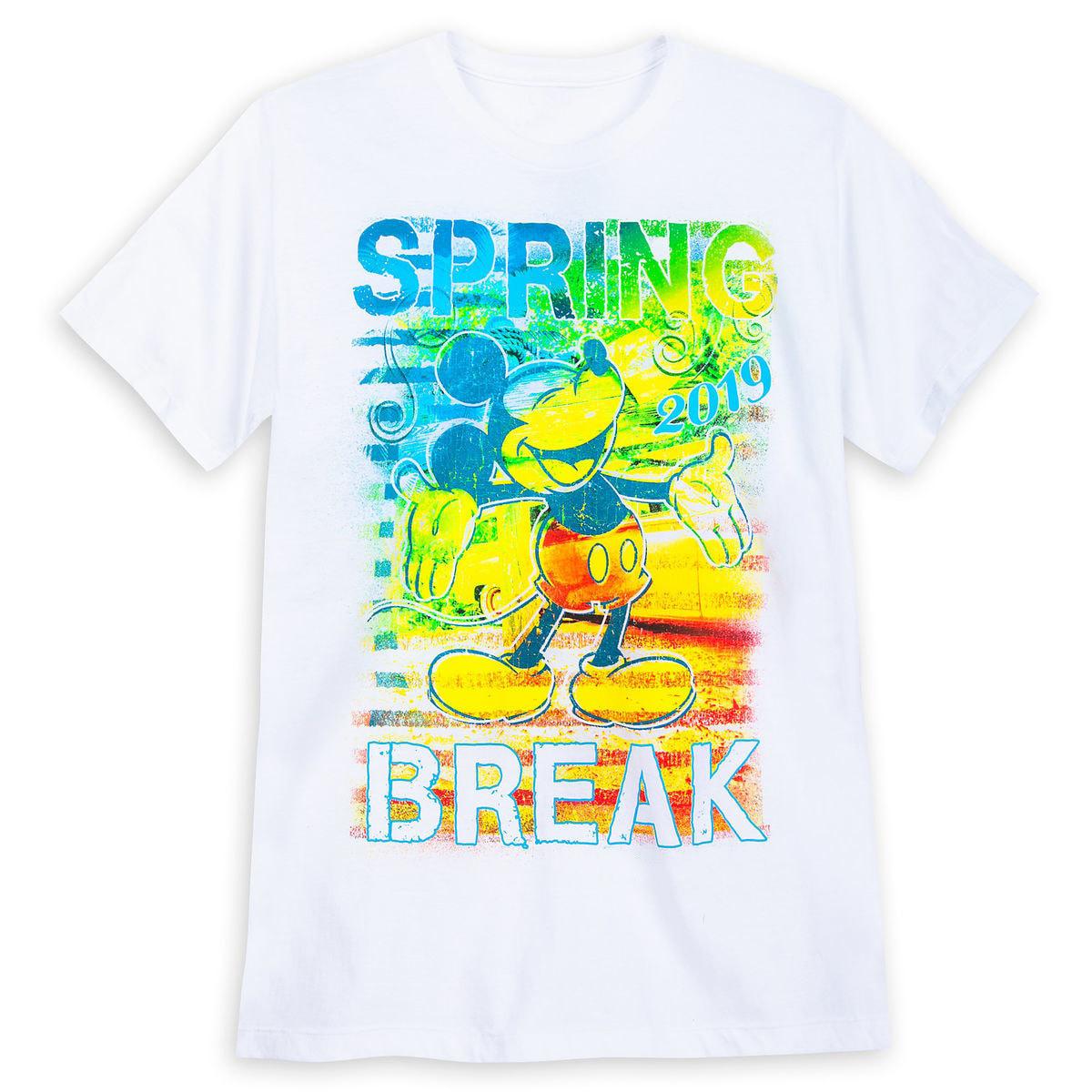 951722463 Disney Adult Shirt - 2019 Spring Break - Mickey Mouse