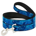 Disney Designer Pet Leash - Ariel Under the Sea w/ Castle - Silhouette
