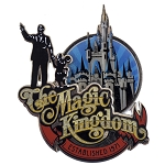 Disney Kitchen Magnet - Mickey Magic Kingdom - Partners