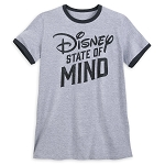 Disney Men's Shirt - Disney State of Mind Ringer
