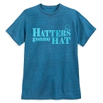 Disney Men's Shirt - Mad Hatter - Hatter's gonna Hat