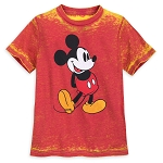 Disney Child Shirt - Mickey Mouse Burnout T-Shirt